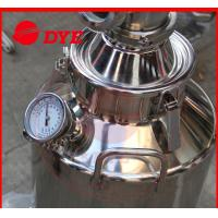 Cheap 50L Professional Home Distilling Equipment 4 Plates , Vodka Distillation Kit for sale
