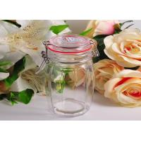 Quality White Crystal Glass Tableware Wide Mouth Mason Jar For Kitchen wholesale
