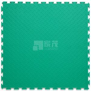 Cheap 3W Plastic Vinyl PVC Anti-slip Interlocking Shoping flooring Mats for sale