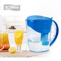 Quality 10 Cup Alkaline Water Filter Jug , BPA Free Plastic Water Purifier Pitcher 3.5L wholesale