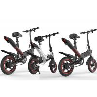 China Lightweight Aluminum Folding Electric Bike Fold Up Energy Saving Eco - Friendly on sale