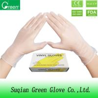 Quality PVC Food grade Disposable P Free Vinyl Gloves With Protective For Kids wholesale