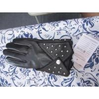 Quality Short Style Sheep Leather with Studs Gloves (BF-13-251) wholesale