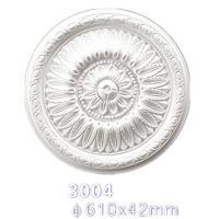 Quality 3004 Surface Mounted Decorative Ceiling Polyeurethane Medallion wholesale