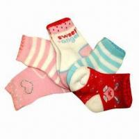 Quality Baby socks, soft, sweat absorbing and breathed wholesale