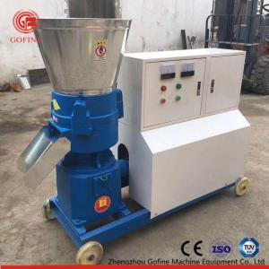 China Wood Pellet Mill Machine , Charcoal Extruder Flat Die Press Pellet Machine on sale