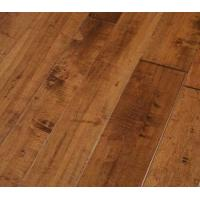 China Chinese Maple Engineered Wood Flooring, handscraped & distressed surface on sale