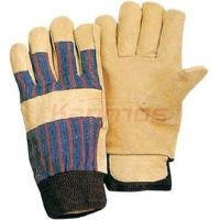 Quality 11 inch Household / maintenance /  construction Protective leather winter gloves / Glove wholesale