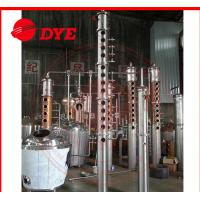 Quality Frequent Red Copper Commercial Distillation Equipment Of Alcohol 3MM Thickness wholesale