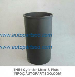 Quality Brand New 4HE1 Cylinder Liner Kits (Set of 4 Cylinder) ISUZU NPR 4.8L Diesel 1998-2004 wholesale