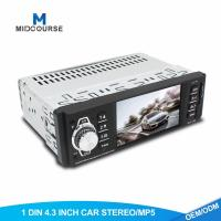 Quality Professional 1 Din Car Stereo 4.1 Inch TFT Car 1 Din Navigation System wholesale