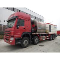 Quality HOWO Road Construction Bitumen Tank And Gravel Synchronous Slurry Seal Chip Sealer Truck wholesale