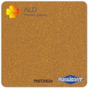 Quality metallic gold thermosetting spray electrostatic powder coating paint wholesale