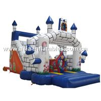 China Classocal Inflatable Castle Bouncer And Slide Combo For Kids on sale