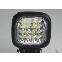 Cheap Square Vehicle LED High Power Driving Lights 48W 6000K 4600 lumen for sale
