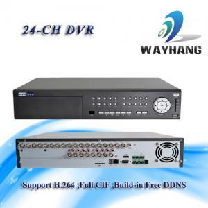 China CCTV 24-CH DVR Standalone H.264 Net DVR Security System HDMI/VGA Surveillance on sale