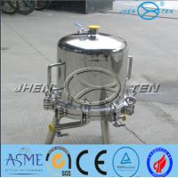 Cheap Lenticular Disk Filter Stainless Fermentation Tank for Beer Water Beverage , for sale