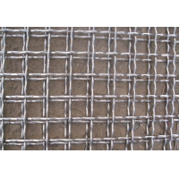 AISI304 stainless steel Vibrating Mining Screens Crimped Woven Square Hole for sale