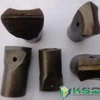 Quality 7 Degree Flat Chipways Taper Chisel Bit Apply To Variety Rock Formations wholesale