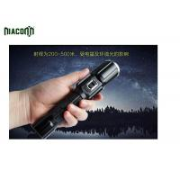 Quality Power Bank Tactical Led Flashlight With CREE XML And COB Red Light wholesale