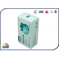 Cheap Face Mask Packaging Folding Carton Box OEM SGS Sedex Passed Uv Coating Finish for sale