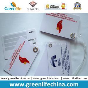 China Custom Logo Printing High Quality Promotional Gift Plastic Baggage Tag on sale