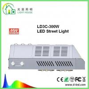 Quality Aluminum Fluorescent Solar Powered LED Street Lights 300 w for Garden , High Lumen wholesale
