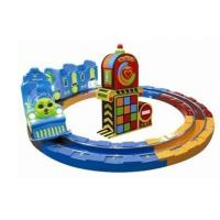 Quality Carousel Train Track Kiddy Ride Game Machine For Amusement Park HR-QF019 wholesale
