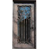 Quality Wrought Iron Door Single Entry Door wholesale