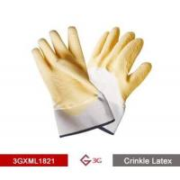 China Cold Insulated Gloves-Latex Crinkle Finish on sale