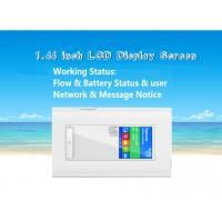 Quality RJ45 port 4g router with dual sim card slots and 5200mAh power bank wholesale