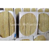 Quality Rockwool Mattress Refractory Rockwool Sound Insulation with Wire Mesh 20 MM Thick wholesale