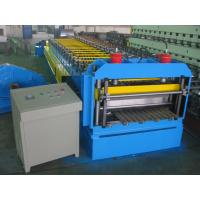 Quality Automatic Metal Glazed Roof Tile Roll Forming Machine Siemens PLC Control for Mexico Market wholesale