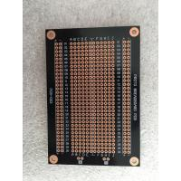Quality Overload Protection Prototyping PCB Board 94 * 64mm Black Fr-4 PCB Breadboard wholesale