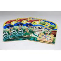 Quality Cardboard Paper Walt Disney Saddle Stitch Printing Square Brochures With Die Cut wholesale