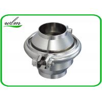 Quality High Sanitation Sanitary Check Valve For Water Pipelines , Weld Connection End wholesale