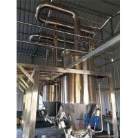 Quality Dairy / Becerage Food Processing Equipment With CIP Cleaning Ball wholesale