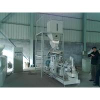 Quality 600kg/h double screw extruder Vietnam fish feed machine price wholesale