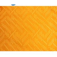 China Factory price 100% Polyester Brushed Velboa Embossed Knitting Fabric For Clothing & Fashion Bag in China on sale