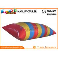 Quality 0.9mm PVC tarpaulin Inflatable Water Catapult Blob With Logo Printing wholesale