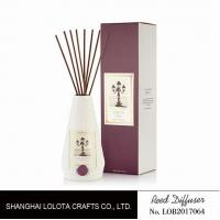 Quality Portable Home Ceramic Scent Diffuser , Long Lasting Ceramic Reed Diffuser wholesale