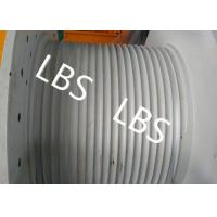 Quality Hydraulic Crane Winch For Boat / Truck , Windlass Anchor Winch With Lebus Drum wholesale