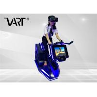 China VR Machine Indoor 9d Virtual Reality Exercise Bike For Gym Playground on sale