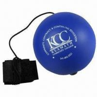 Quality Yoyo Stress Ball Made of Polyurethane Stress Reliever,, Comes in Various Colors wholesale