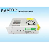 Cheap Cooling Fan CCTV Power Supplies 220V Input AC/DC 12V 20A Metal Case Power Supply for sale