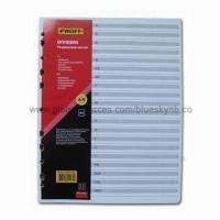 Quality Paper Index Card Dividers, OEM Orders are Welcome wholesale