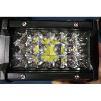 Quality 6 Inch 54W Philips Led Work Lights 12v Trip Row 6500k Multiple Colors wholesale
