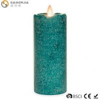 Cheap 7-Inch Flickering Flame LED Pillar Candle for sale
