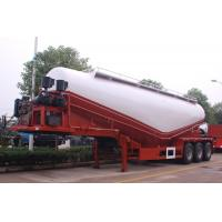 Quality 2 Axle 35cbm Cement Tanks Trucks And Trailers For Dry Powder Flour Transportation wholesale