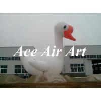 Quality huge 20ft advertising inflatable white swan for display in promotion wholesale